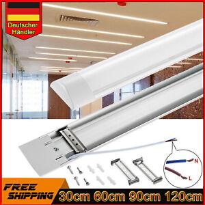 LED Feuchtraumleuchte Wannenleuchte Kellerleuchte Licht Bar 30//60//90//120cm Röhre