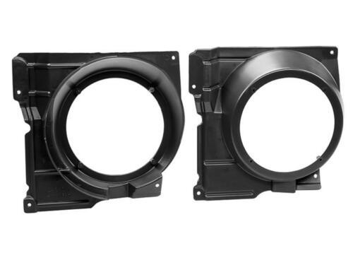 Lautsprecher Adapter Ringe Set für VW Polo 6N2 10//1999-09//2001 165mm