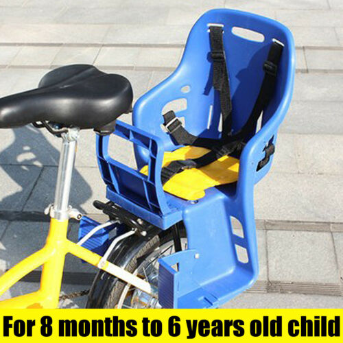 Bicycle Kids Child Back Baby Seat Bike Carrier with Handrail 25kg Max  !! !