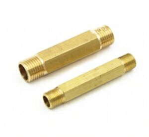 """50mm Long 3//8/"""" Male Female BSP Thread Coupler Brass Connector Fitting Adapter"""