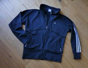 Details zu ADIDAS Damen Sport Jacke Gr. 38 40 schwarz Clima Lite Clima 365 neuwertig