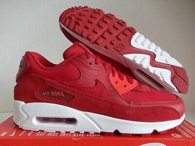 NIKE AIR MAX 90 PREMIUM GYM RED GYM RED WHITE SZ 10.5 [700155 602] 823233591851 | eBay