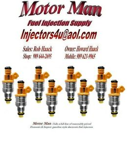 86-95 Ford 5.0L MUSTANG  Set Of 8 Genuine Denso  Fuel Injectors Shipped Today
