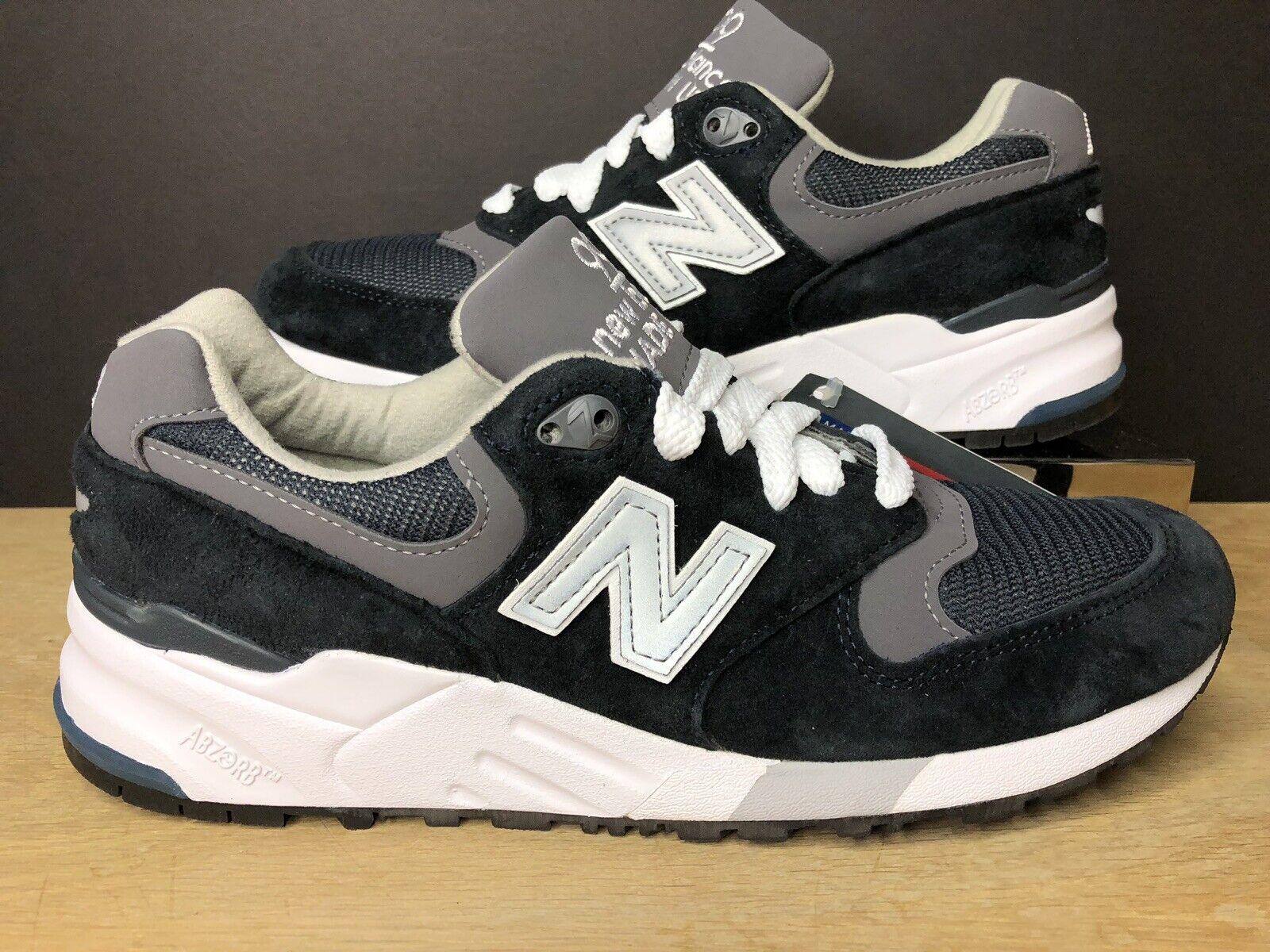 New Balance 999 D Made In USA Navy Grey Running M999CBL Mens Size 6