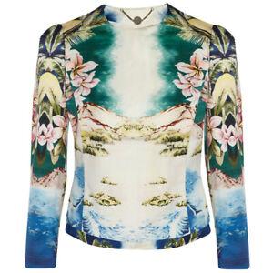 Stella-McCartney-Luxurious-Hawaiian-Floral-Print-Jacket-IT40-UK8
