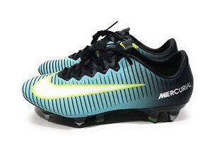 Nike Mercurial Vapor XI SG Pro Womens Soccer Cleats Aqua Volt Size ... 12cf0c7cb7