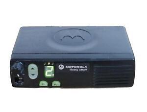 Details about Motorola CM200 Mobile Vehicle Radio, VHF 146-174, 4CH, 45  Watt AAM50KQC9AA1AN