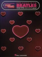 Love Songs Of The Beatles Sheet Music E-z Play Today Book 000102325