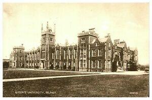 Vintage-postcard-Queens-University-Belfast-Northern-Ireland-W-E-Walton