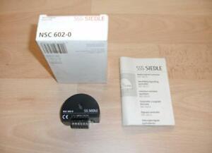 Siedle NSC 602 Nebensignalcontroler NEU /& OVP NSC602