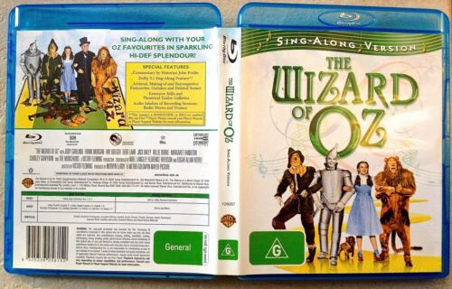 1 of 1 - THE WIZARD OF OZ - Sing-Along Version (Blu-ray REGION B) -LIKE NEW-