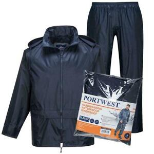 MEN-WATERPROOF-MOTORCYCLE-MOTORBIKE-2-PIECE-RAIN-OVER-JACKET-TROUSER-SUIT