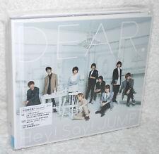 J-POP Hey! Say! JUMP DEAR 2016 Taiwan Ltd CD+DVD (Ver.A) digipak