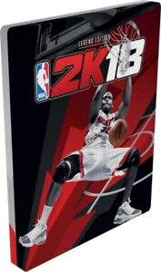 NBA-2K18-Steelbook-Case-PS4-amp-Xbox-One-NEUF-no-game