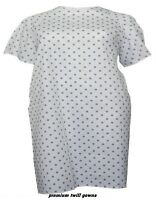 6 Deluxe Twill Pin Dot Hospital Patient Gown Medical Gowns Extra Privacy on sale