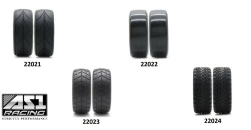 22021-24 1//10 Scale OnRoad Nitro Touring Drifting Car 2 Wheels and Tyres 14spoke