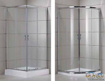shower cabin angular round 70x70 75x75 70x90 80x80 90x90