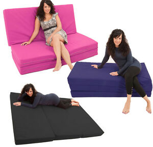 Image Is Loading Mive 7ft Fold Out Foam Guest Z Sofa
