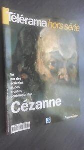 Revista Telerama Fuera de La Serie Cezanne Septiembre 1995 Tbe