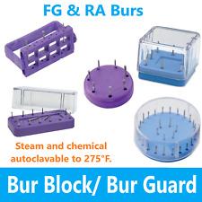 Dental Lab Fg Ra Magnetic Bur Block Bur Caddy Bur Gurad Station Holds 28 Burs
