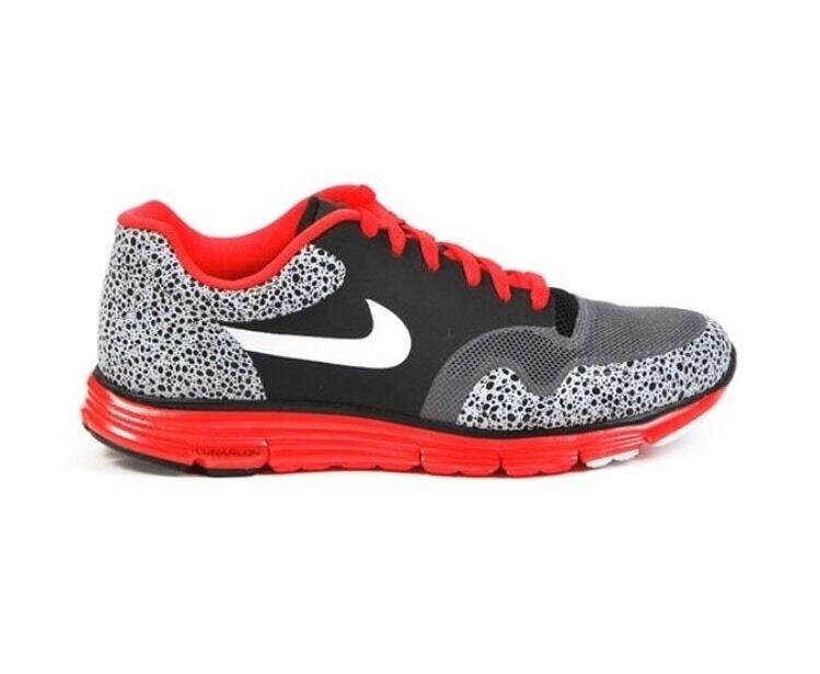 newest collection 3ec32 532c3 Nike Lunar Safari Fuse Sz 9 Black Grey Crimson Crimson Crimson Red White  Atmos Air Max