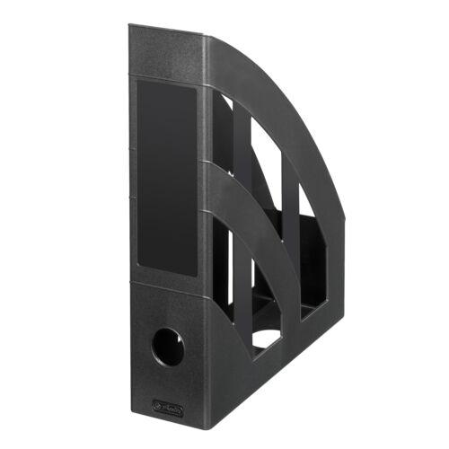 schwarz 4 Herlitz Stehsammler Farbe Plastik Stehordner