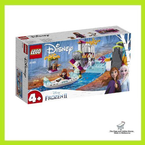 Lego Disney Anna's Canoe Expedition 41165 Building Kit New 2019