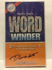 "David L. Hoyt's:  ""WORD WINDER"" 2 Addictive Games In 1 [BRAND NEW SEALED]"