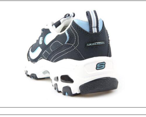 os Girls para os de ni Energy Skechers 2 ni D'lites Reino deporte para Unido Sport Zapatillas Blue Zapatos Entrenadores nqn0WIP