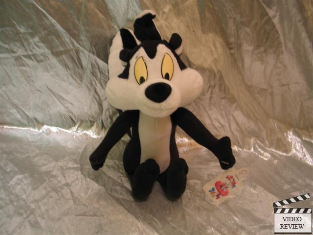 Pepe Pepe Pepe Le Pew Small Plush NEW Fadded Eyes Applause 3f367c