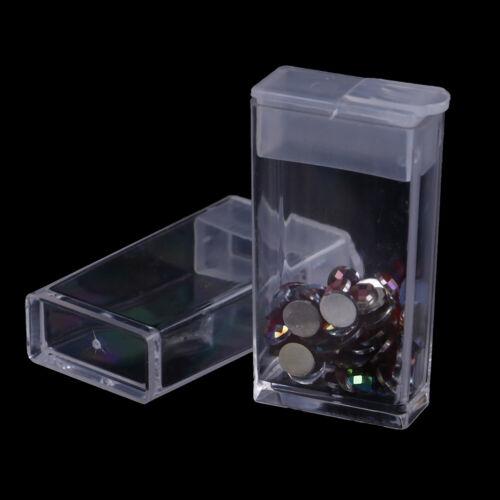 42 cas de boîte de rangement de peinture de diamant de broderie de fentes cas FM