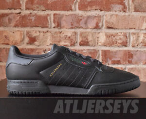 Details about Adidas Yeezy Powerphase Calabasas Core Black Kanye West CG6420 Size 4 14