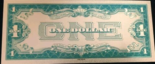 "/</> OLD /""GOLD/"" $1.00 GOLD CERTIFICATE One DOLLAR Rep.*Banknote!!"