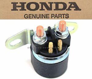 genuine honda starter magnetic relay switch all vtx 1800. Black Bedroom Furniture Sets. Home Design Ideas