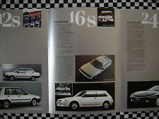 catalogue brochure TOYOTA SUPRA CELICA COROLLA MULTISOUPAPES / FRANCAIS