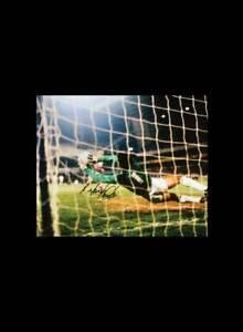 TONY PARKS SIGNED TOTTENHAM SPURS UEFA CUP FINAL FOOTBALL PHOTO PROOF & COA