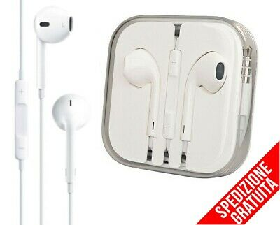 CUFFIE AURICOLARI IPHONE 4 4S 5 5C 5S SE 6 6S PLUS EARPHONE iPod BLISTER   eBay