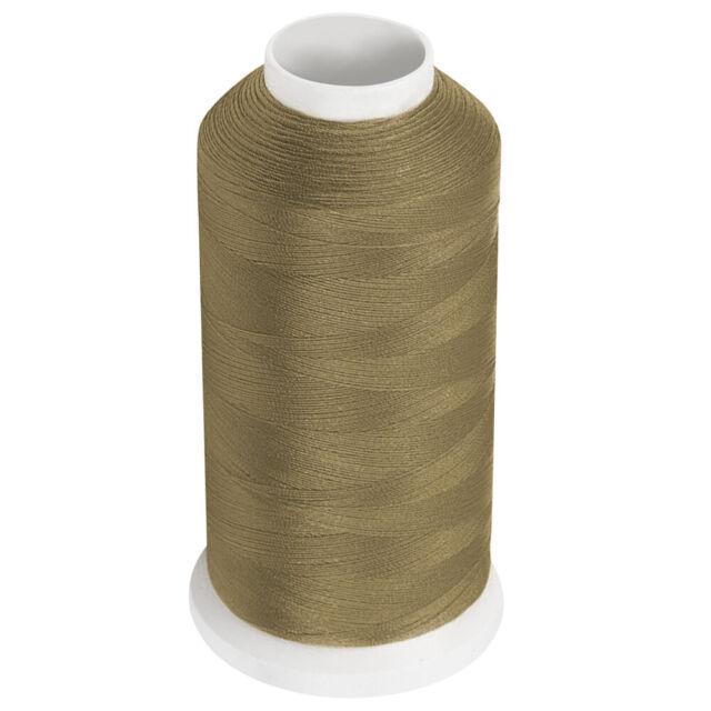Two Cones #69 Dark Beige Bonded Nylon Thread 3300y T70