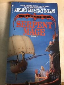 Serpent-Mage-by-Margaret-Weis-and-Tracy-Hickman-The-Death-Gate-Cycle-Vol-4