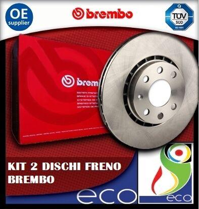 DISCHI FRENO BREMBO LANCIA Y10 dal 03//1985 al 12//1995 ANTERIORE