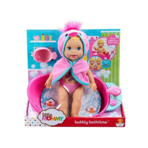 New! Mattel Little Mommy Bubbly Bath Time Splish Splash Doll X8690-I