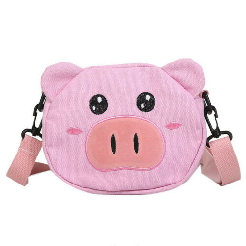 Frauen Schwein Umhängetasche Schultertasche Geldbörsen Handtasche Henkeltaschen