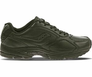 Saucony-Grid-Omni-Walker-Wide-Black-Men-Pronation-Trainer-Running-Shoes-S4261-2