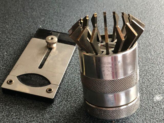 Bergeon-Vigor No.4266 Glasheber Glasabheber Uhrmacher Werkzeug