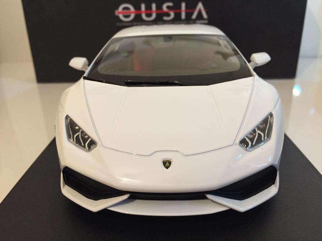 Kyosho Ousia 09511 W Lamborghini Huracan LP610-4 Blanc échelle 1 18