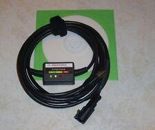 AC STAG 200,300,Q/FEMITEC/LOVATO LPG GPL Diagnose Kabel USB INTERFACE+Softw/Anl.
