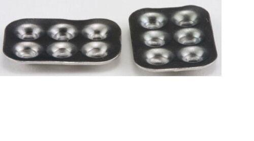 2pc #IM65593 Dollhouse Miniatures 1:12 Scale Aluminum Muffin Pans