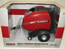 1//16TH CASE IH RB565 PREMIUM ROUND BALER WITH 1 BALE ZFN14893 14893