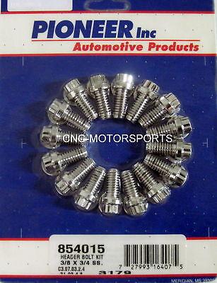 Chevy 454 Mercruiser Exhaust Manifold Bolt Set 16 Bolts