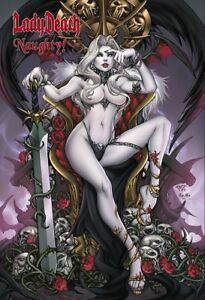 Lady-Death-034-Naughty-034-Hardcover-TP-Paolo-Pantalena-Cover-Ltd-Ed-Comic-Book